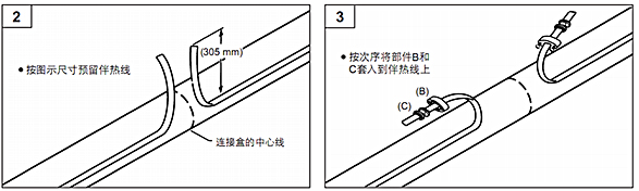 pmkg-ls二通接线盒安装示意图